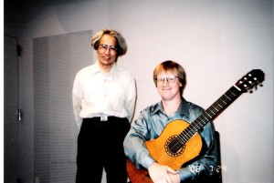 With Kazu Munakata performing his work Requiem 9/11
