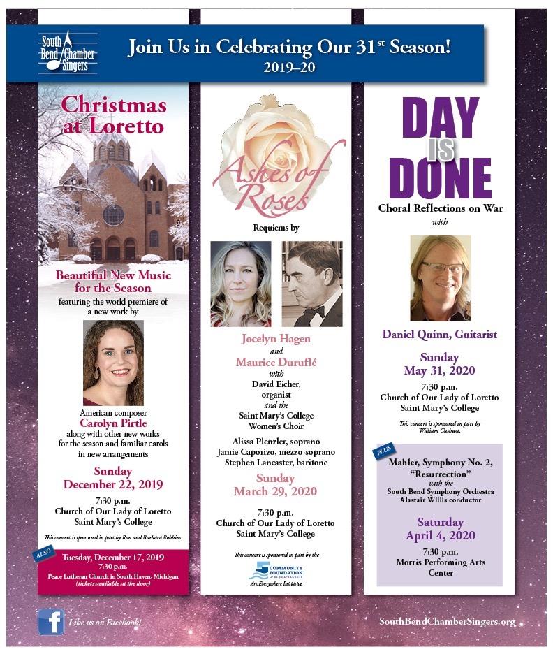 Lourdes Hall Closing Date Christmas 2020 Events | Daniel Quinn | Classical Guitarist